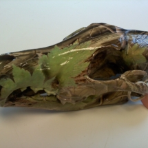 Coyote skull camo dipped left side